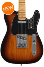 Photo of Fender American Ultra Luxe Telecaster - 2-color Sunburst with Maple Fingerboard