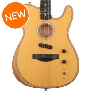 Fender Acoustasonic Telecaster Sweetwater Exclusive - Butterscotch