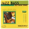 "Photo of Thomastik-Infeld Jazz Flat Wound Bass Strings - 6-String 34"" Long Scale .033-.136"