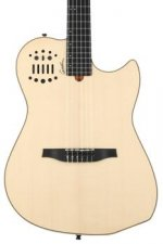 Photo of Godin MultiAc Nylon SA Acoustic-Electric Guitar - Natural