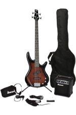 Ibanez IJXB150B Jumpstart Bass Pack - Walnut Sunburst