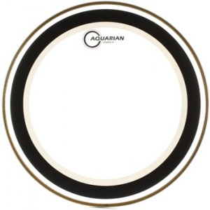 Aquarian 14/'/' Studio-X Texture Coated w// Power Dot Drumhead