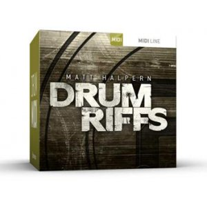 Toontrack Drum Riffs MIDI Pack