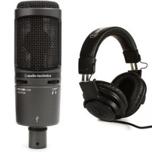 audio technica at2020usb cardioid condenser usb microphone sweetwater. Black Bedroom Furniture Sets. Home Design Ideas
