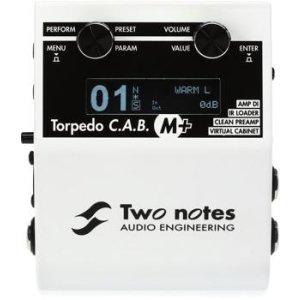 Two Notes Torpedo C A B  M Speaker Simulator Pedal