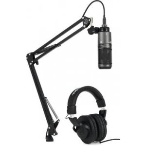 Audio-Technica AT2020USB+PK Streaming/Podcasting Pack
