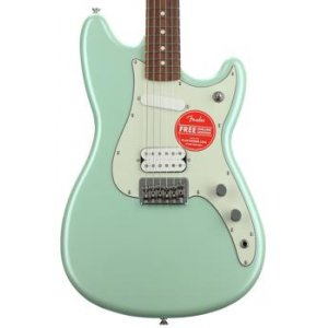 Fender duo sonic capri orange with maple fingerboard sweetwater freerunsca Image collections