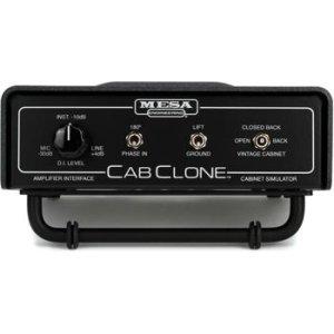 NEW * Mesa Boogie CabClone 8 Ohm Cabinet Simulator Cab Clone NEU free T-Shirt