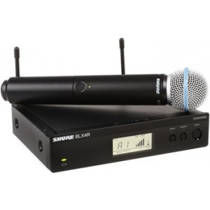 H10 Shure BLX24//B58 Handheld Wireless System with BETA58A Vocal Microphone