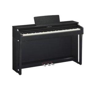 Yamaha Clavinova CLP-625 Digital Upright Piano with Bench - Matte Black