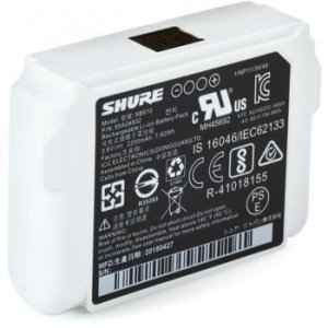 UR5 and P10R Systems Shure SB900A Rechargeable Lithium-Ion Battery for use with Axient Digital P9R QLX-D P3RA ULX-D AD1//AD2