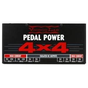 Voodoo Lab Pedal Power 4x4 8-output Isolated Guitar Pedal Power Supply