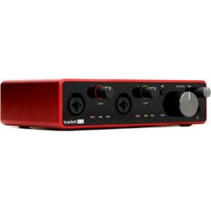 """Zoom UAC-2 2x2 USB 3.0 Audio Interface with Steinberg Cubase LE Production Software with w//Eris 3.5 BT Pair Studio Bluetooth Monitors Condenser Microphone and 1//4/"""" Instrument Cables"""