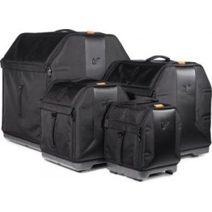 9 Inches X 12 Inches Black Sparkle Humes /& Berg Enduro Pro Foam-Lined Mounted Tom Case