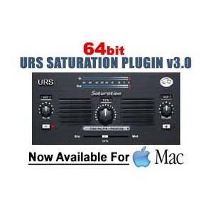 URS Saturation Plug-in (64-bit) Mac Only