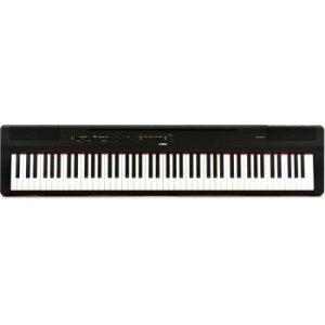 Yamaha P-125 88-Key Weighted Action Digital Piano - Black