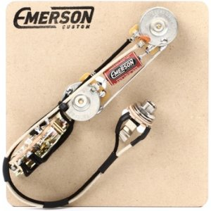 emerson custom 3 way prewired kit for fender telecasters 250k pots rh sweetwater com