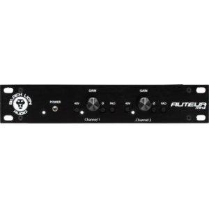 Black Lion Audio Auteur MK2 Dual Channel Microphone Preamp