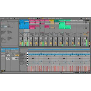 Boxed 5GB+ Ableton Live 10 Intro DAW Software with 1500+ Sounds 16 Tracks