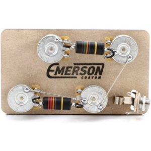 emerson custom 4 way prewired kit for telecaster guitars 250k potsemerson custom 4 way prewired kit for telecaster guitars 250k pots sweetwater