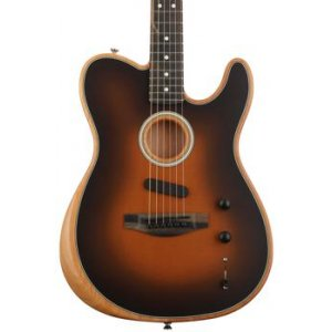 Fender Acoustasonic Telecaster - Sunburst on