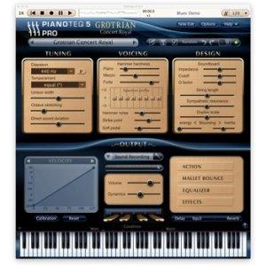 MODARTT Grotrian Concert Royal (requires Pianoteq)