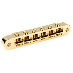 Gibson Accessories Nashville Tune-O-Matic Bridge w/Full Assembly - Gold