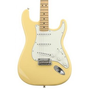 Fender Player Series Stratocaster Buttercream W Maple Fingerboard