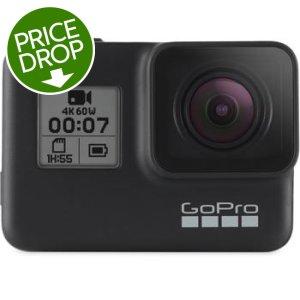 GoPro HERO7 Black 4K60 Waterproof Action Camera