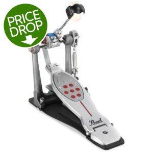 Belt Drive P2052BL Redline Left-Handed Double Bass Drum Pedal Pearl Eliminator