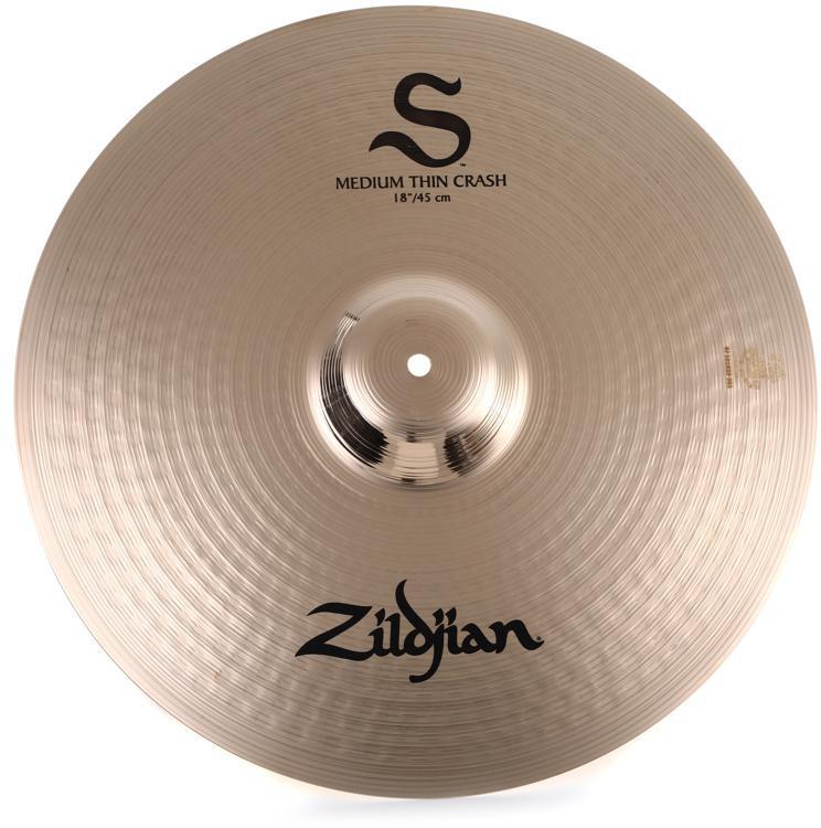 Zildjian S Series Medium-Thin Crash Cymbal - 18