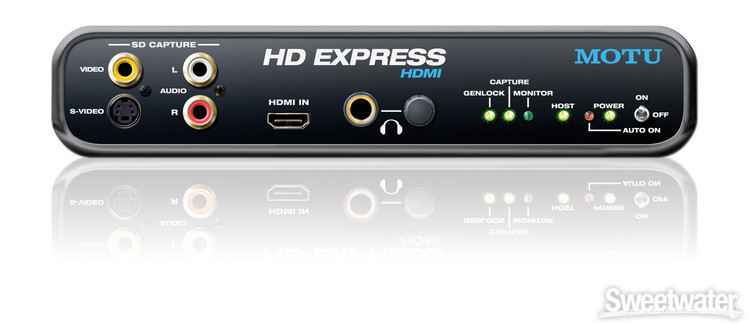 MOTU HD Express HDMI Laptop image 1