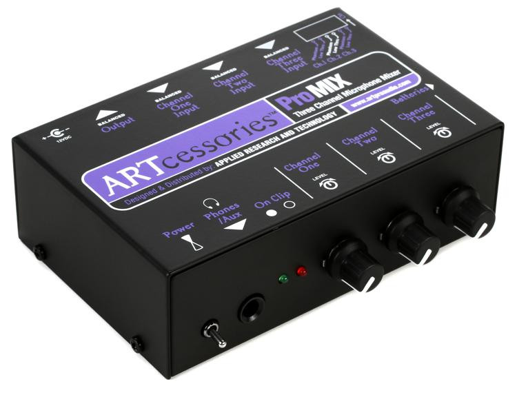 ART ProMIX Microphone Mixer image 1