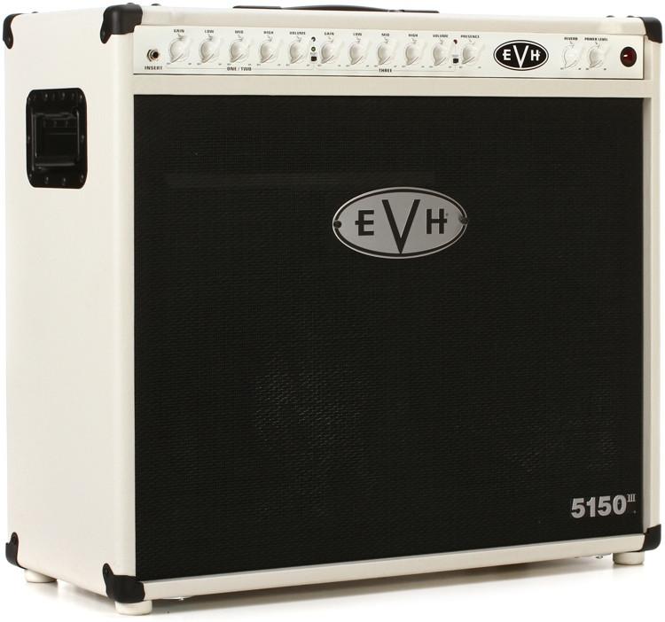 evh 5150 iii 50 watt 2x12 tube combo amp ivory sweetwater. Black Bedroom Furniture Sets. Home Design Ideas