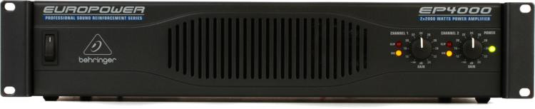Behringer Europower EP4000 Power Amplifier image 1