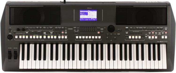 PSR-S670 61-key Arranger Workstation
