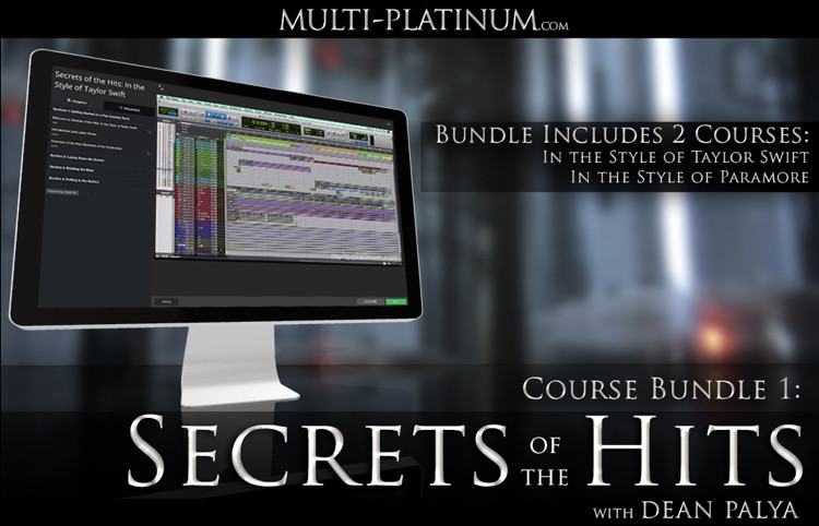 Multi Platinum Secrets of the Hits Bundle 2: In the Style of Taylor Swift and Paramore Interactive Courses image 1