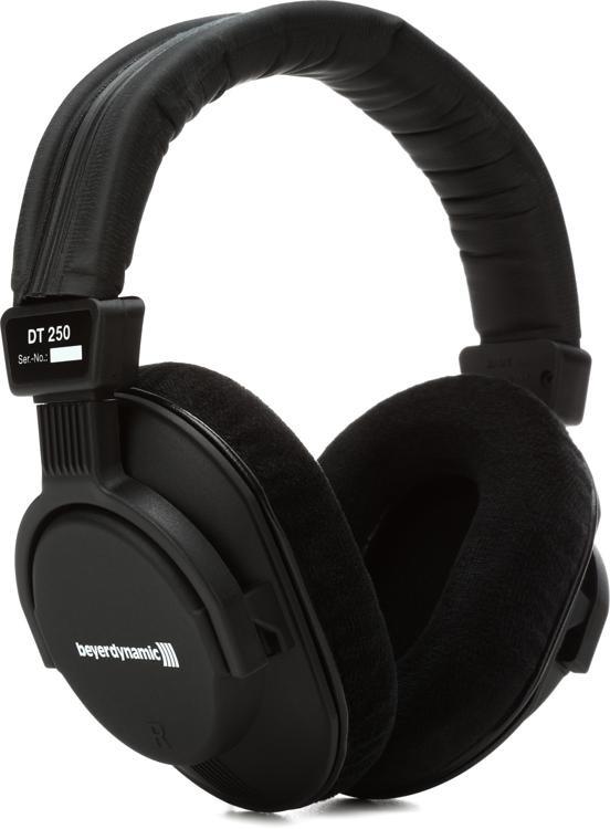 Beyerdynamic DT 250 80 ohm Closed-back Broadcast and Studio Headphones image 1