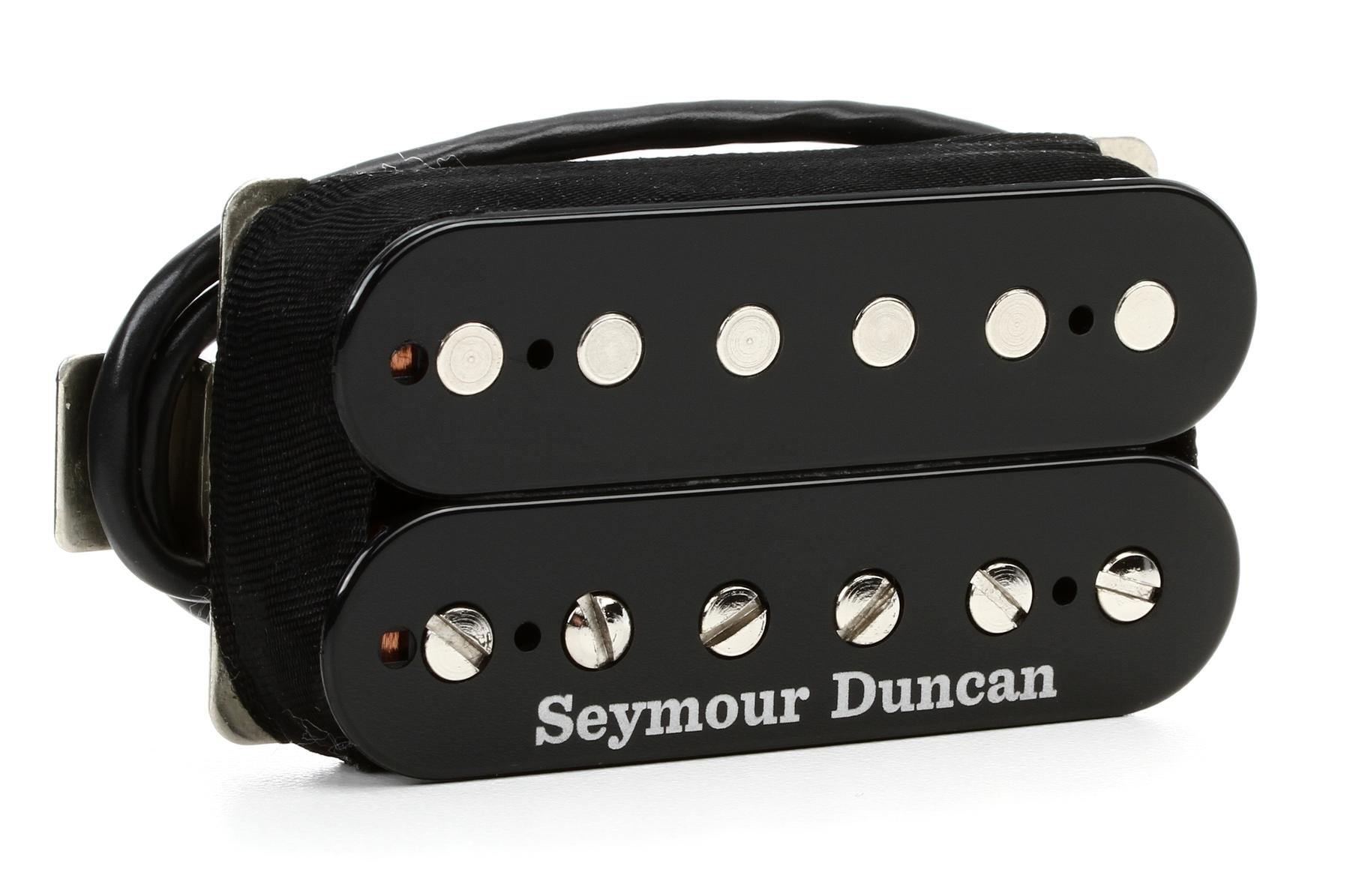 Seymour Duncan SH-6b Duncan Distortion Humbucker Pickup - Black ...