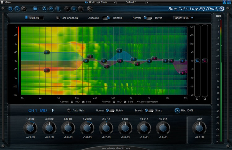 Blue Cat Audio Liny EQ 5 image 1