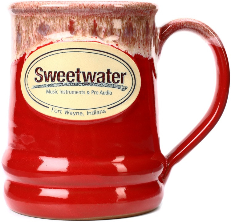 Sweetwater Ramsey Mug - Red with Sand White image 1