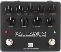 Seymour Duncan Palladium Gain Stage Distortion Pedal - Black