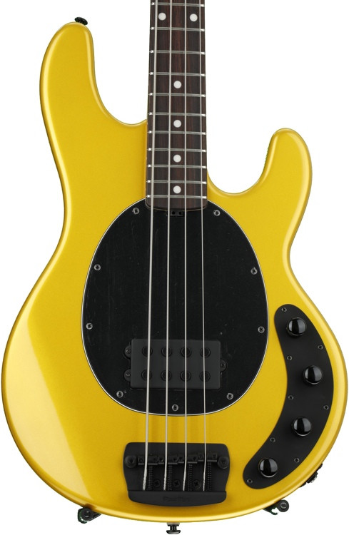 ernie ball music man stingray 4 h 3 eq firemist gold rosewood fingerboard sweetwater. Black Bedroom Furniture Sets. Home Design Ideas