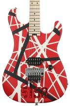 EVH Striped Series 5150 - Red, Black, and White