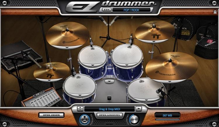 toontrack ezdrummer 2 upgrade from ezdrummer lite sweetwater. Black Bedroom Furniture Sets. Home Design Ideas