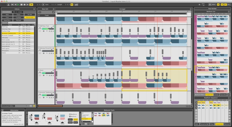 WaveDNA Liquid Rhythm Beat Creation Software image 1