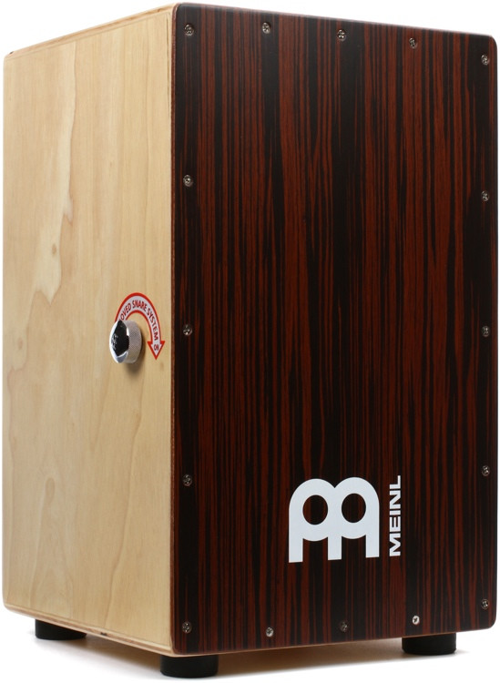 Meinl Percussion Modern Snare Cajon - Ebony Frontplate image 1