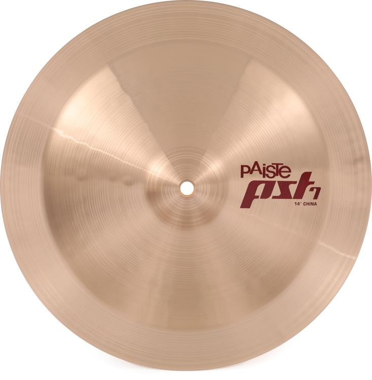 paiste pst 7 china cymbal 14 sweetwater. Black Bedroom Furniture Sets. Home Design Ideas