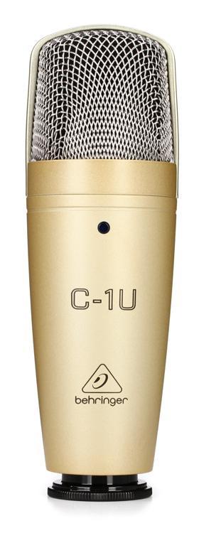 Behringer C-1U Studio Condenser USB Microphone image 1