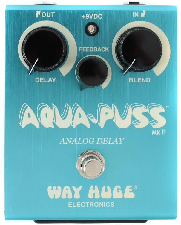 Way Huge Aqua Puss Analog Delay Pedal image 1